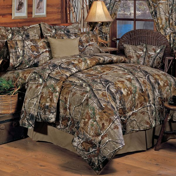 All Purpose APHD Camouflage Twin XL 2 Piece Comforter Set for