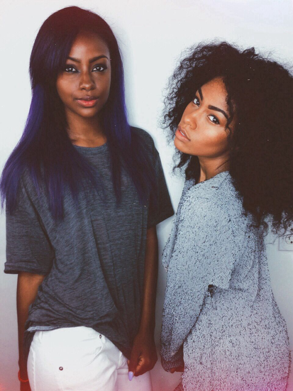 Vmarie beauty pinterest blue hair black girls and natural