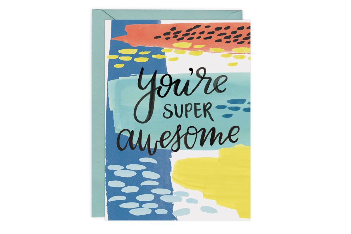 You're Super Awesome - Card