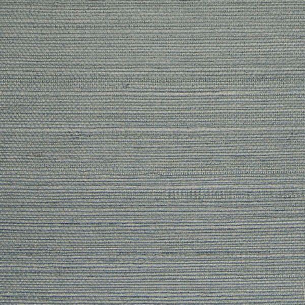 Sisal BlueGrey Grasscloth R1991 Striped wallpaper