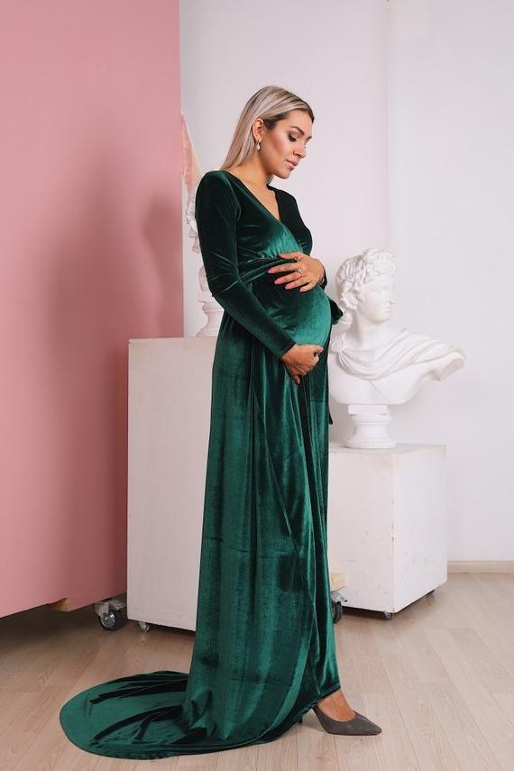 46+ Velvet maternity dress info
