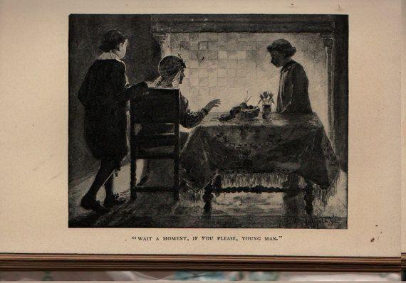 Hans Brinker, Or The Silver Skates - Mary Mapes Dodge - Allen B. Doggett - 1908 - Vintage Kids Book