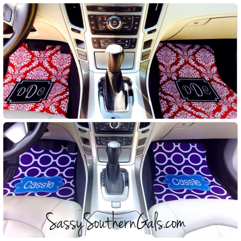 Boho Car Mats | Car Accessories | Moogram Car Mats | Boho Car ...