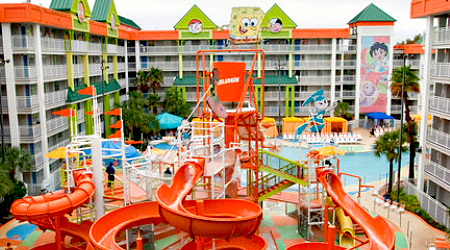Waterpark Nickelodeon Hotel Suites Resort Orlando Florida