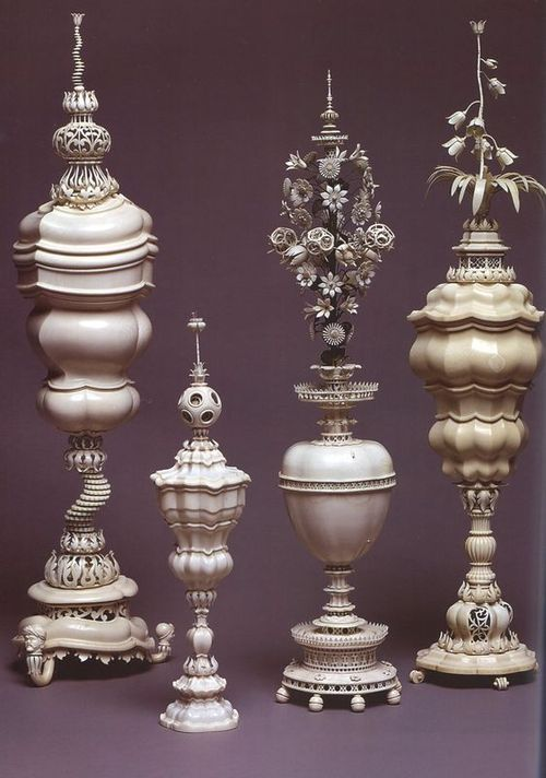 Marcus Heiden Active From 1618 1664 Ornamental Vases And Goblets