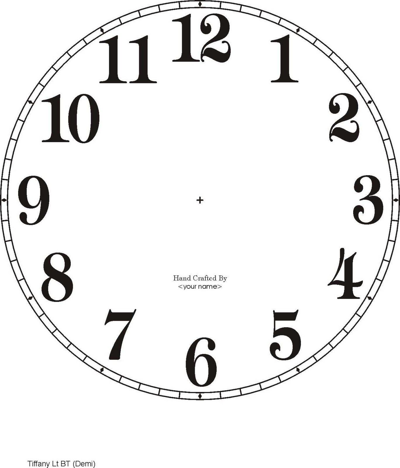 Worksheet Clock Printable 1000 images about clock face on pinterest