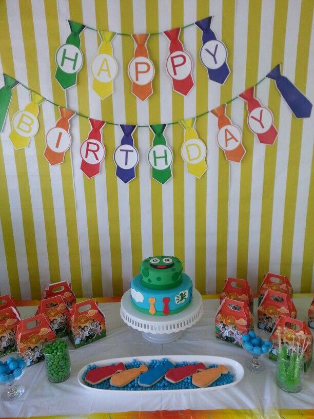 Atencion Atencion birthday decoration Atencion atencion Birthday