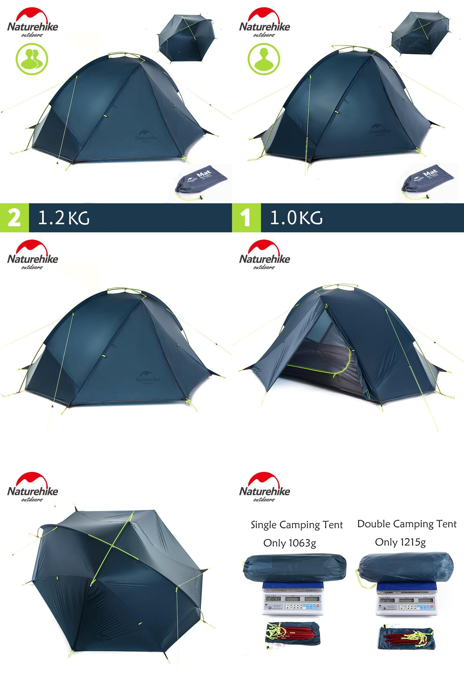 [Visit to Buy] Naturehike 20D Nylon Taga Outdoor C&ing Tent Ultralight One Bedroom One  sc 1 st  Pinterest & Visit to Buy] Naturehike 20D Nylon Taga Outdoor Camping Tent ...