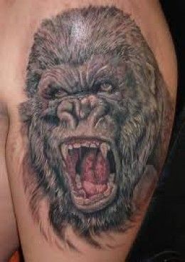 Gorilla Tattoo Meaning : gorilla, tattoo, meaning, GORILLA, TATTOOS, DESIGNS-GORILLA, TATTOO, MEANINGS, IDEAS-GORILLA, PICTURES, Gorilla, Tattoo,, Picture, Tattoos,, Tattoos, Meaning