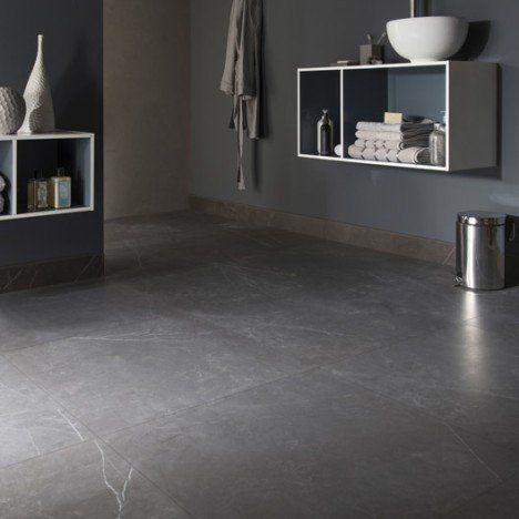 Carrelage Sol Et Mur Noir Effet Marbre Murano L 60 X L 60 Cm En