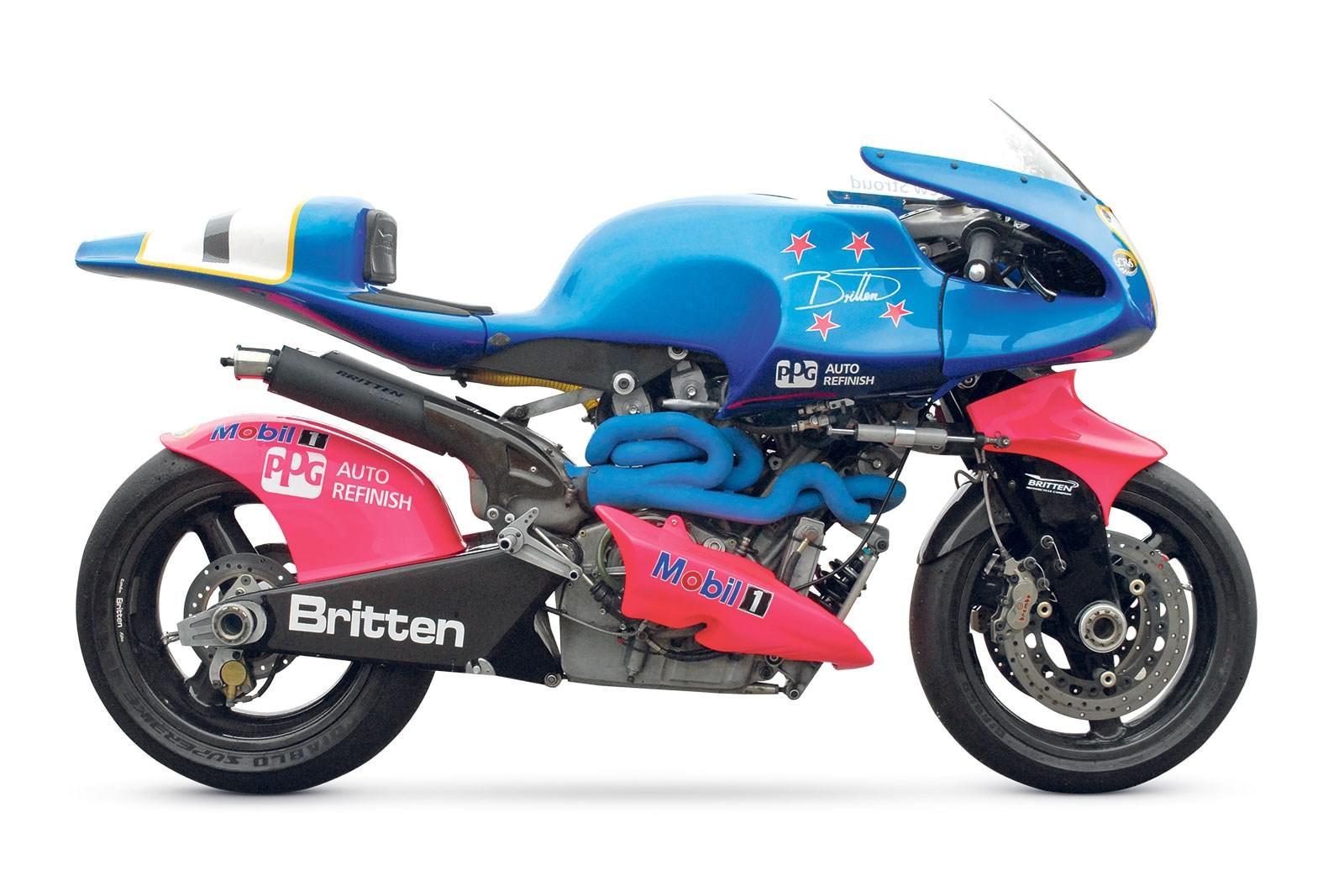 Britten Return To The Island Unique Bikes Motorbike Racing Motorcycles Motorbikes