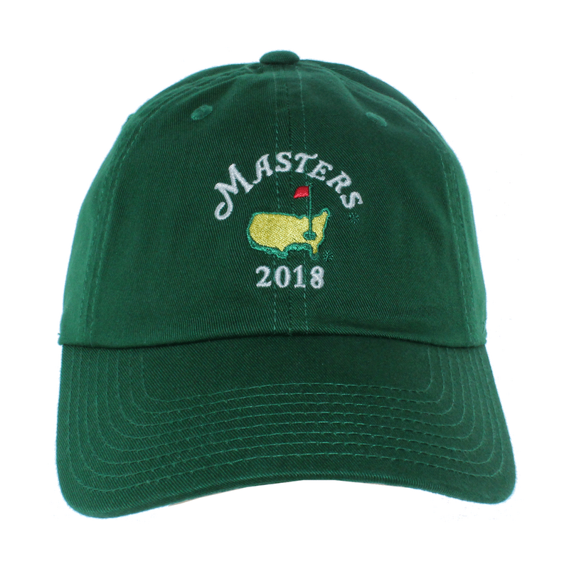 2018 Dated Masters Green Caddy Hat Caddy Cap Golf