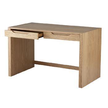 Alphason Butler Home Office Desk In Oak