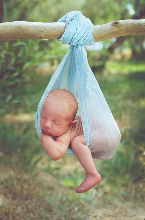 6 Ft Cheesecloth Newborn Photo Prop Beach Blue Baby Wrap