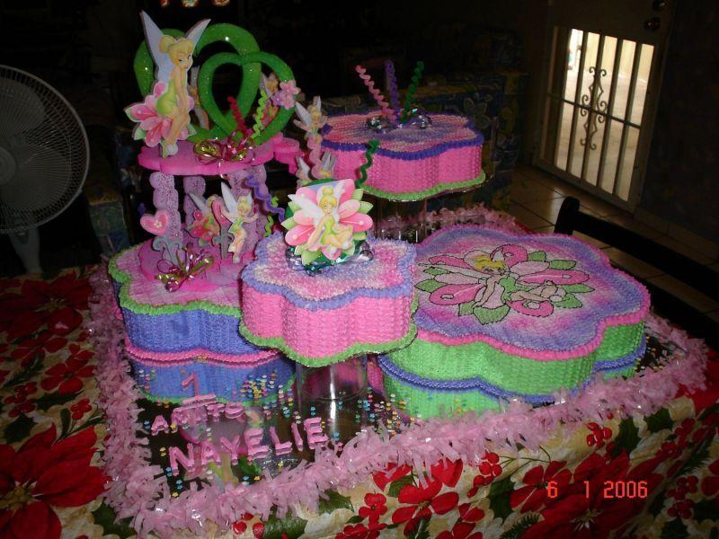 20 ideas para decoracion de tortas de Campanita – tinkerbell ...