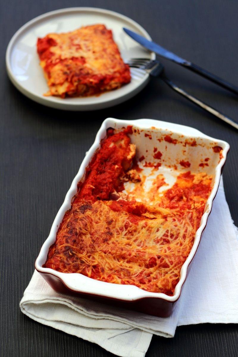 Cannelloni la ricotta poivron et chorizo food cannelloni ricotta et chorizo - Cuisine italienne cannelloni ...