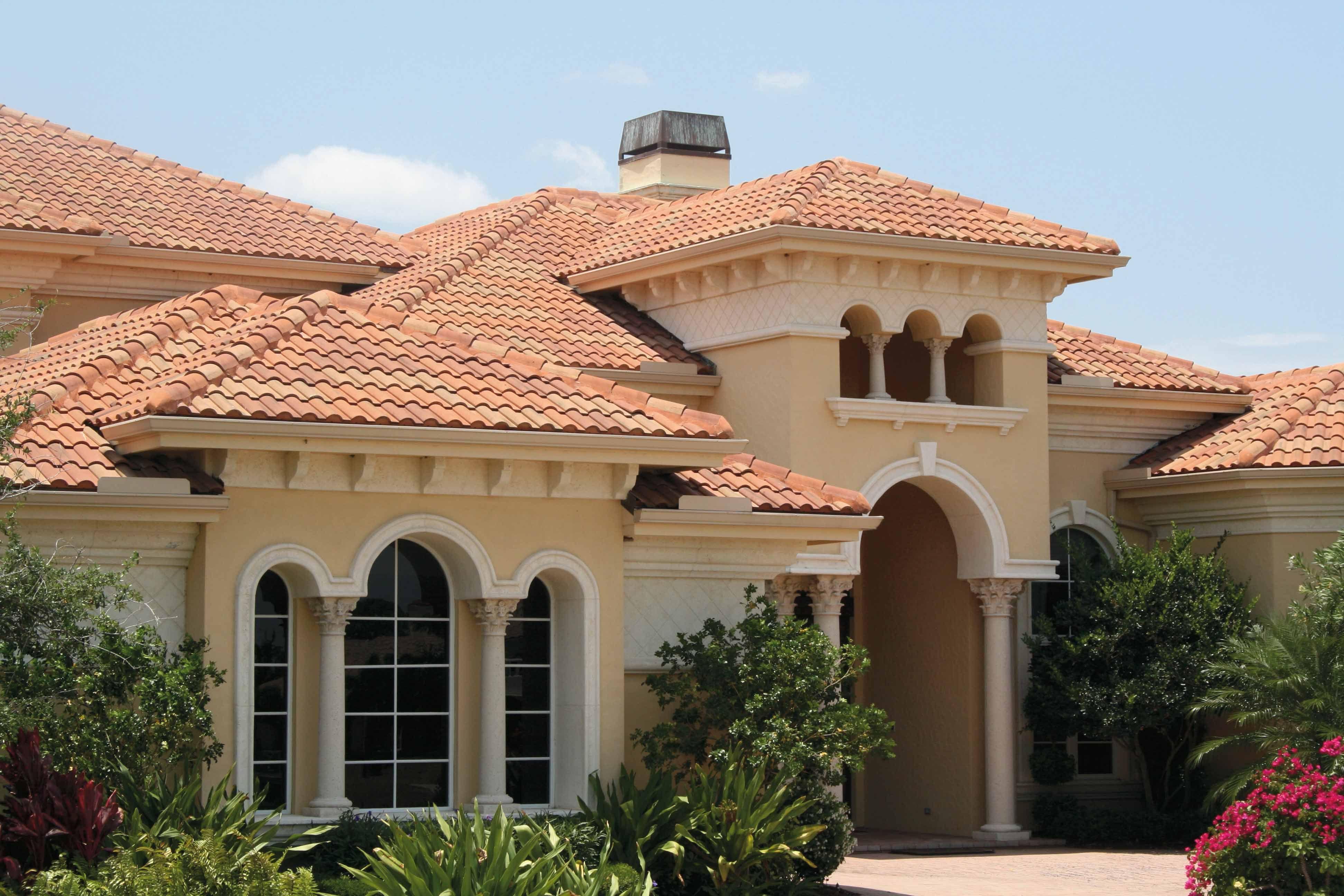 Mediterranean Style Spanish S Roof Tile  Dream House