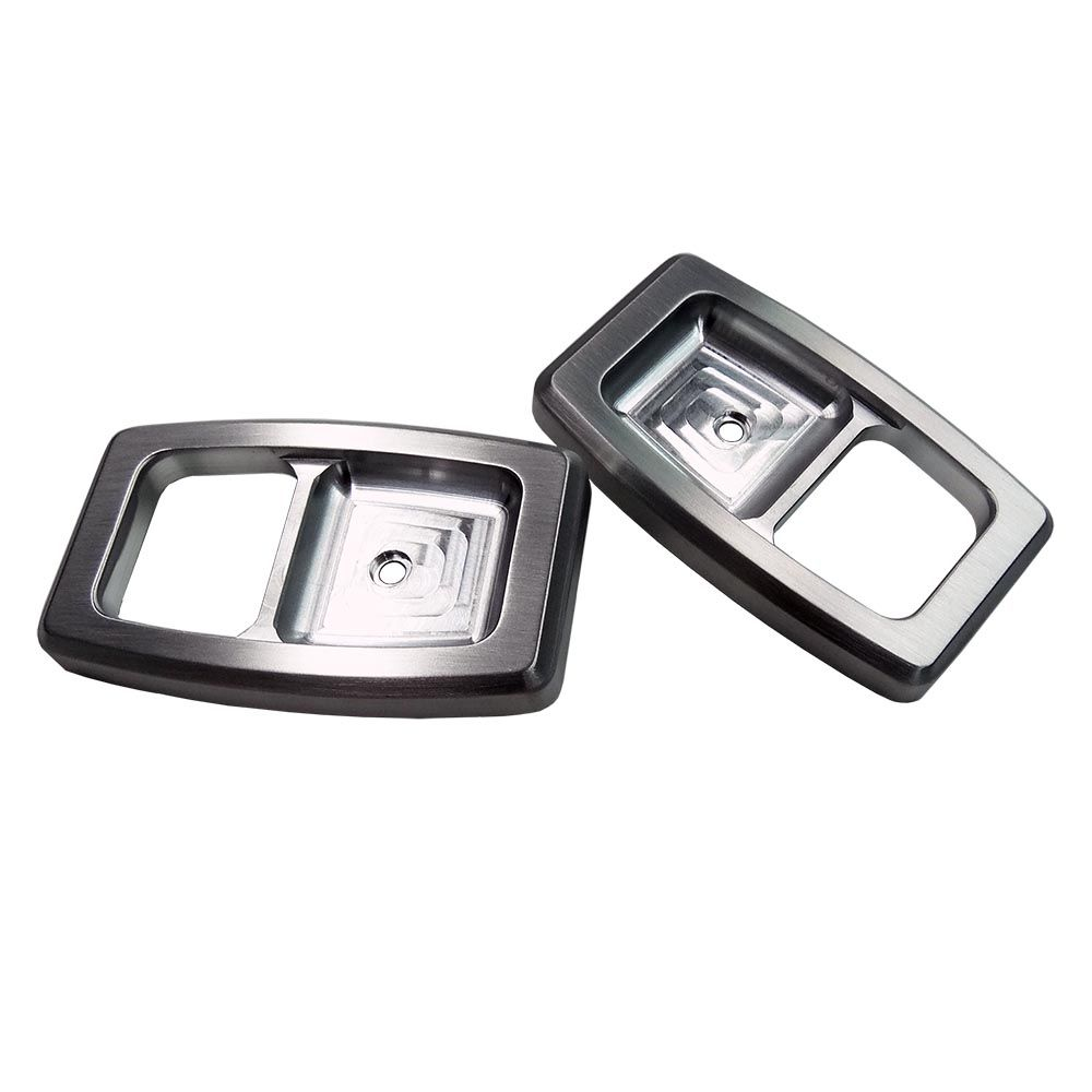 Replace Your Cracked Faded Or Broken Plastic Door Handle Bezels With Upr S Billet Aluminum Cnc Machined Door Han Door Handles Mustang Parts Ford Mustang Parts