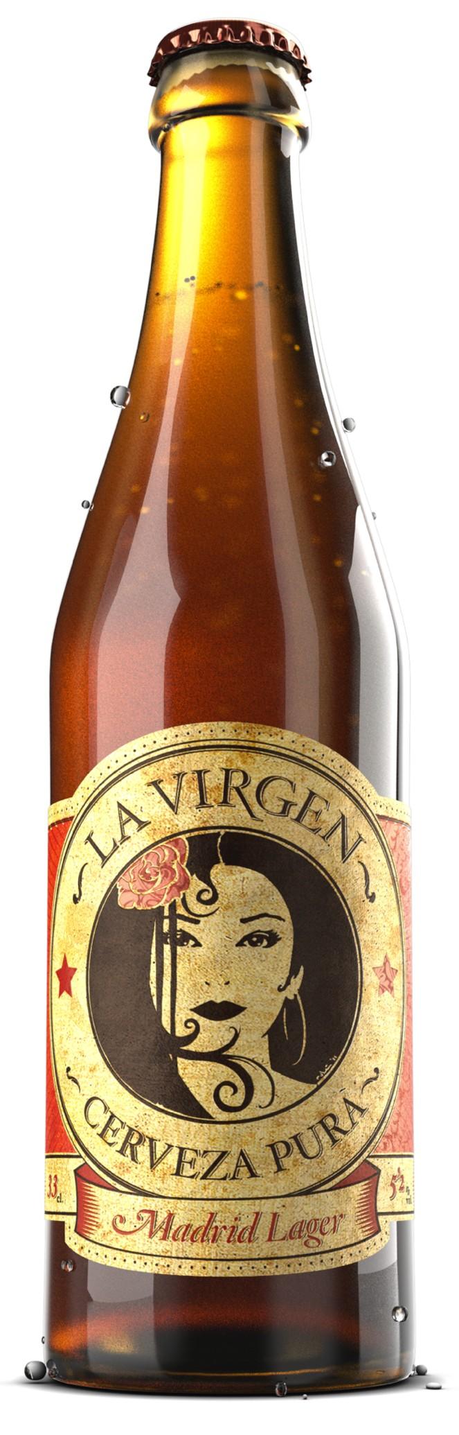 Cerveza La Virgen Madrid Lager Lager Cerveza Cerveza Artesanal
