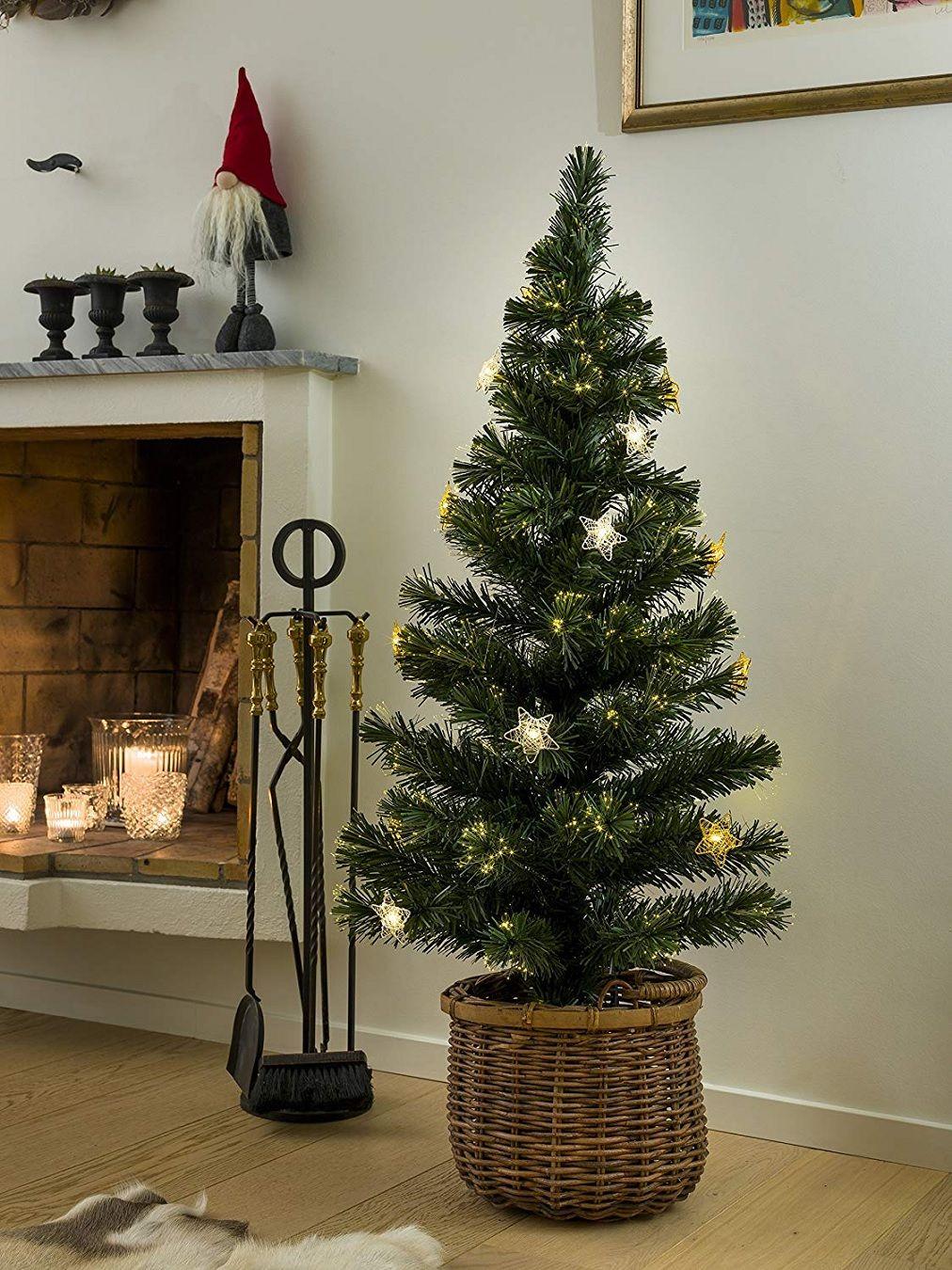Weihnachtsbaum Mit Beleuchtung.Weihnachtsbaum Höhe 120cm Deko Led Beleuchtung Weihnachten