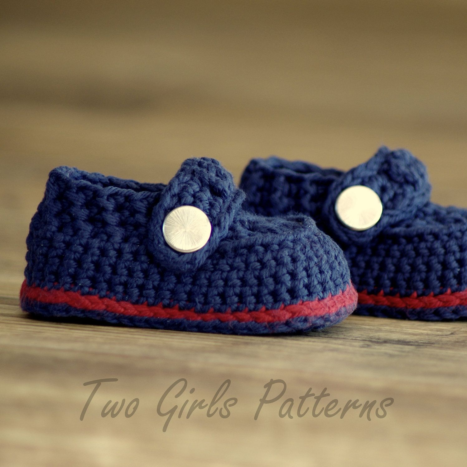 Häkeln Muster Baby Boy Booties Sailor von TwoGirlsPatterns ...