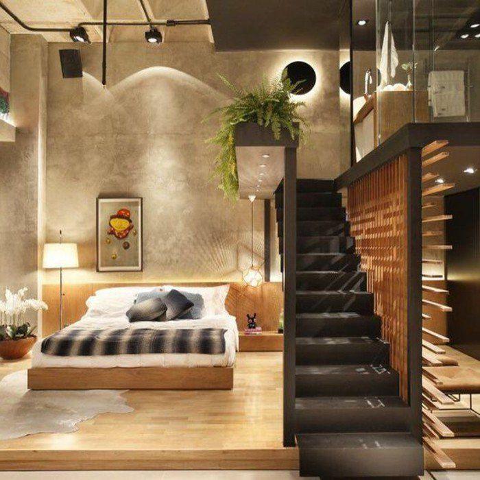 Idées chambre à coucher design en 54 images sur Archzinefr Brown