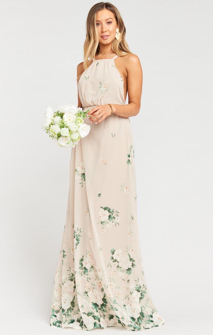 Amanda Maxi Dress Bouquet Toss Mumu Bridesmaid Dresses