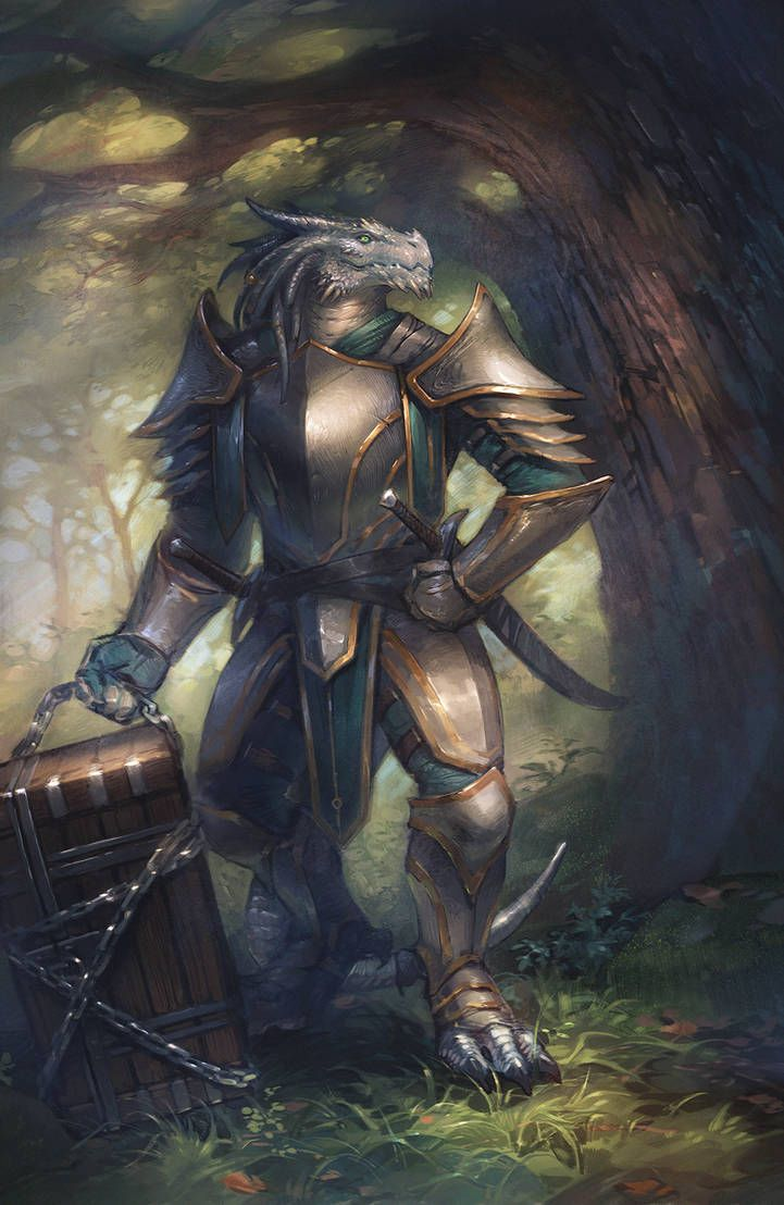 Male Dragonborn White silver fighter paladin cleric | Character art, Fantasy character design ...