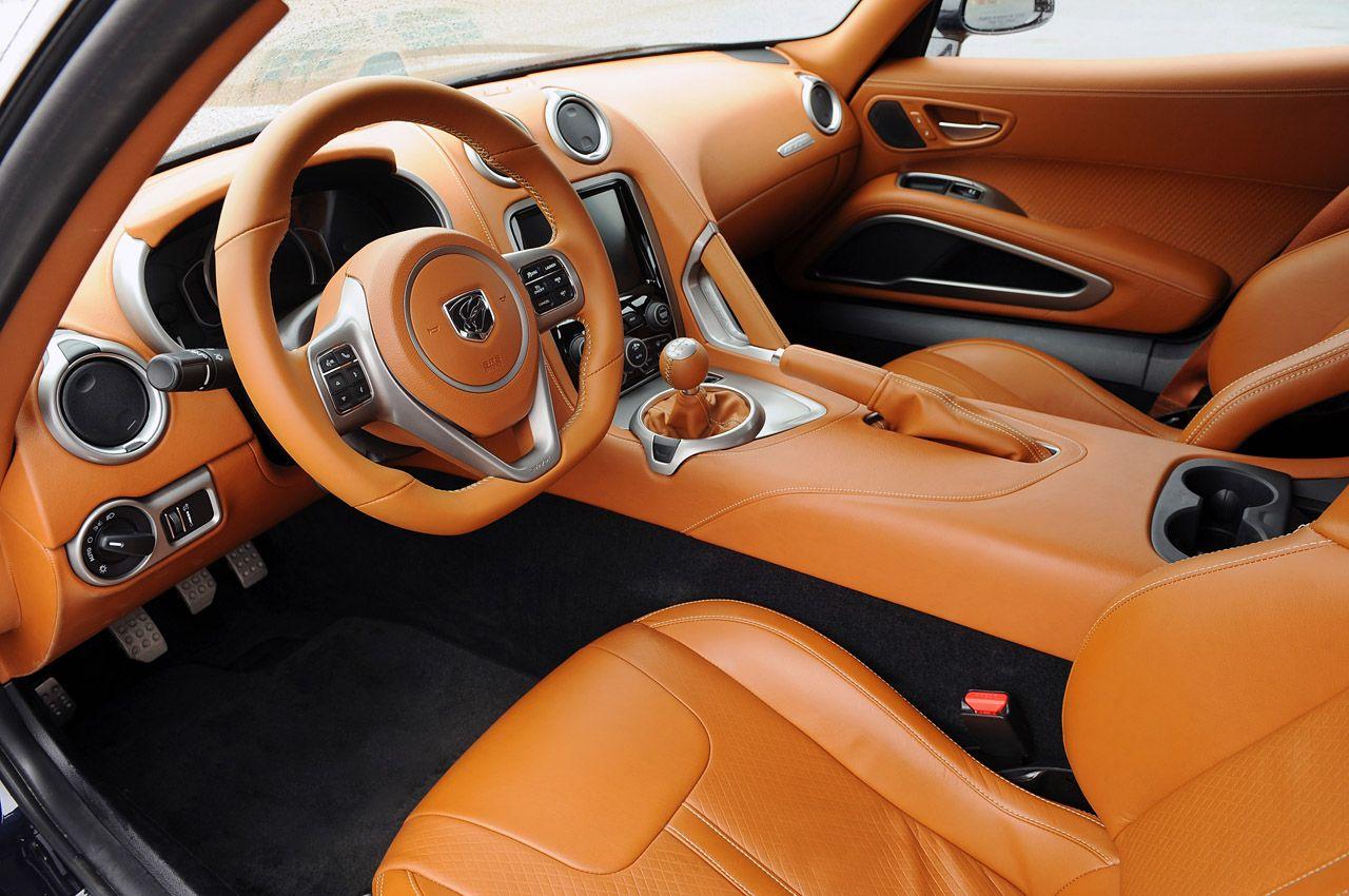 2013 SRT Viper GTS   Interior