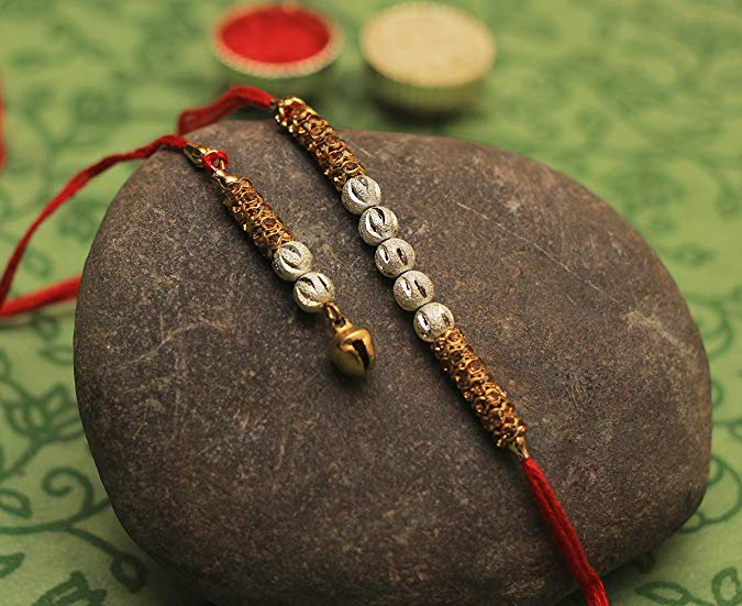 Wrist Band Stylish Blue Translucent Beads Rakhi Thread Raksha Bandhan Rakshabandhan Rakhi for Bhaiya Bhabhi Sister Rakhi Band//Thread Glossy Bracelet CRAFKART Deals on Rakhi for Brother