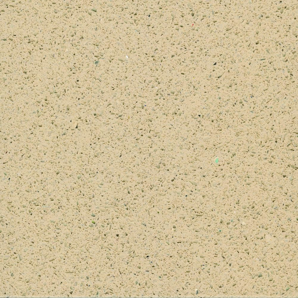Counter samples home depot center - Quartz Countertop Sample In Sand At The Home Depot