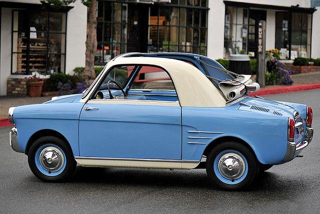 1959 Fiat 500 Autobianchi Bianchina With Images Fiat 500 Microcar
