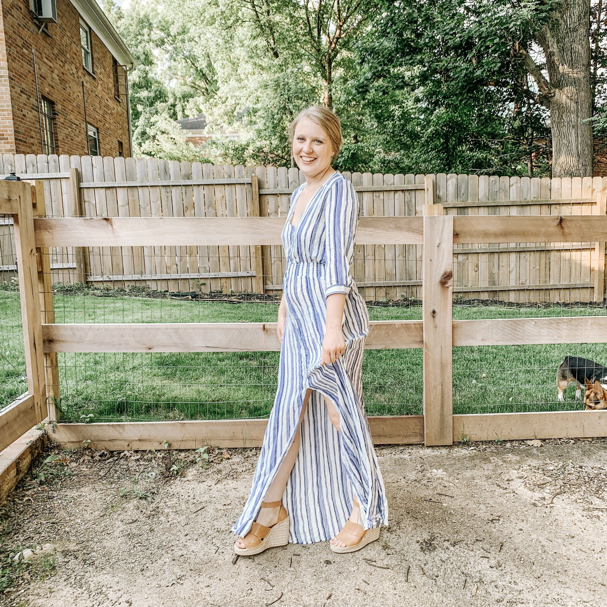Account Suspended 4th Of July Outfits Maxi Dress Party Womens Stripes [ 2048 x 2048 Pixel ]