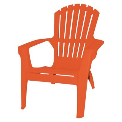 Adirondack Chair Gr Liv Orange
