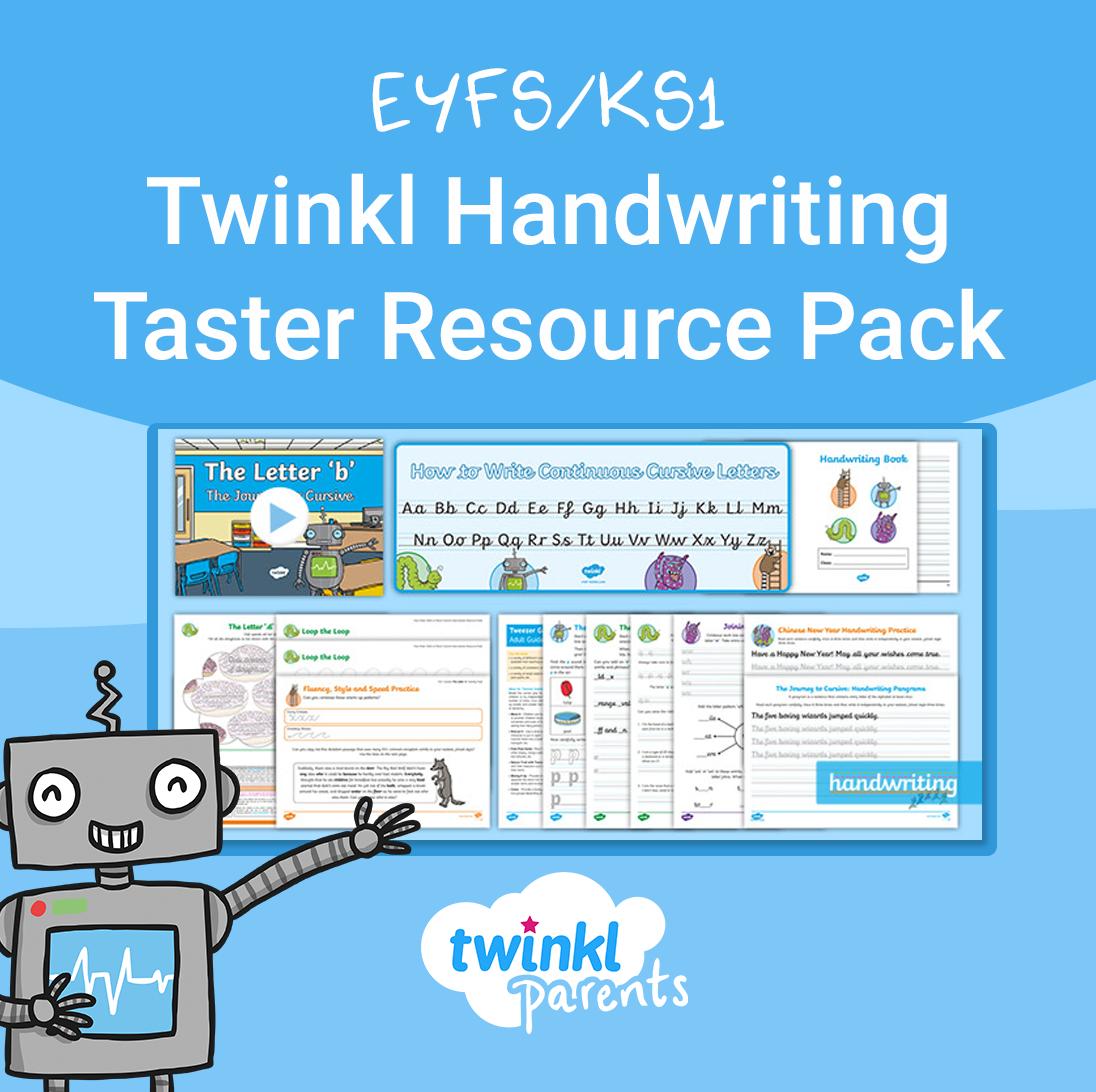 Eyfs Ks1 Twinkl Handwriting Taster Resource Pack In