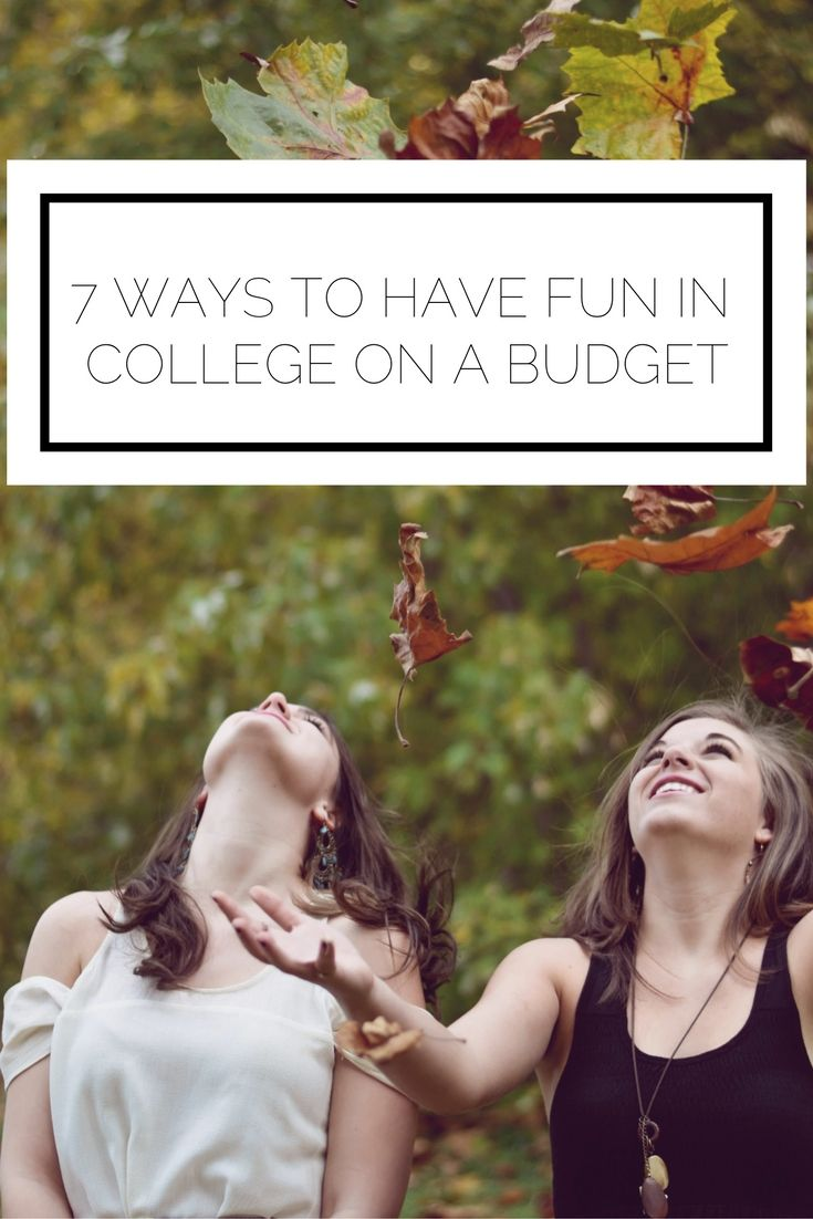 college on a budget