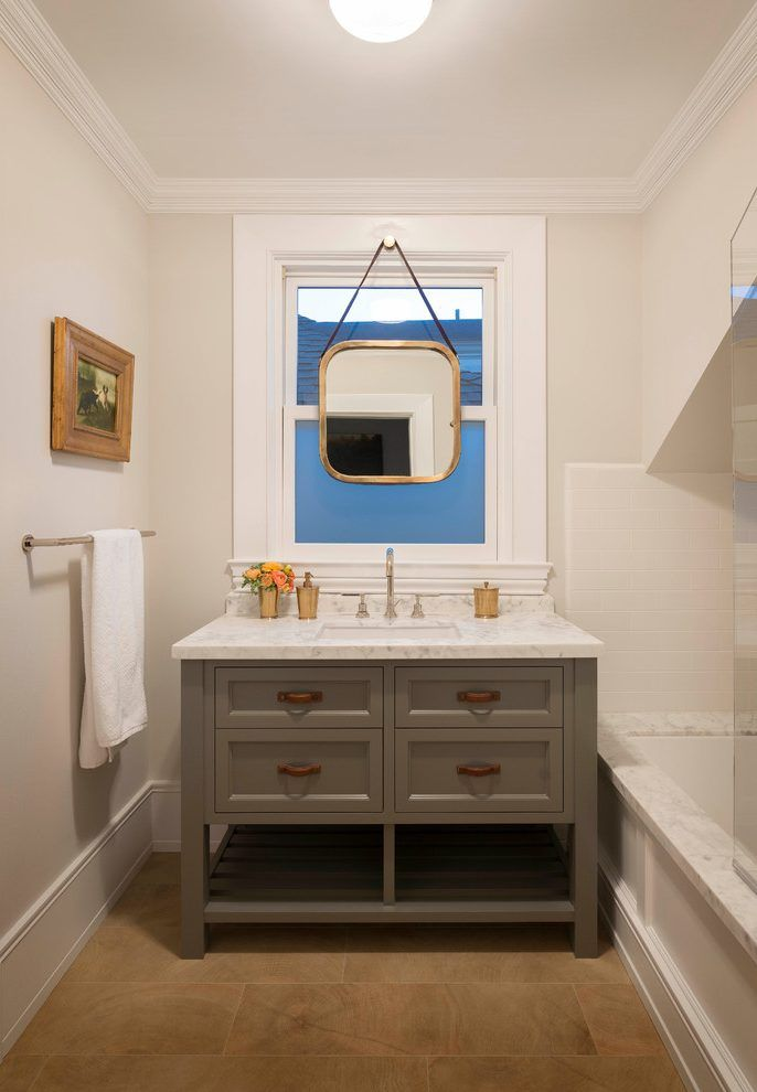 Image result for mirror hanging over window bath | 638 alewive rd ...