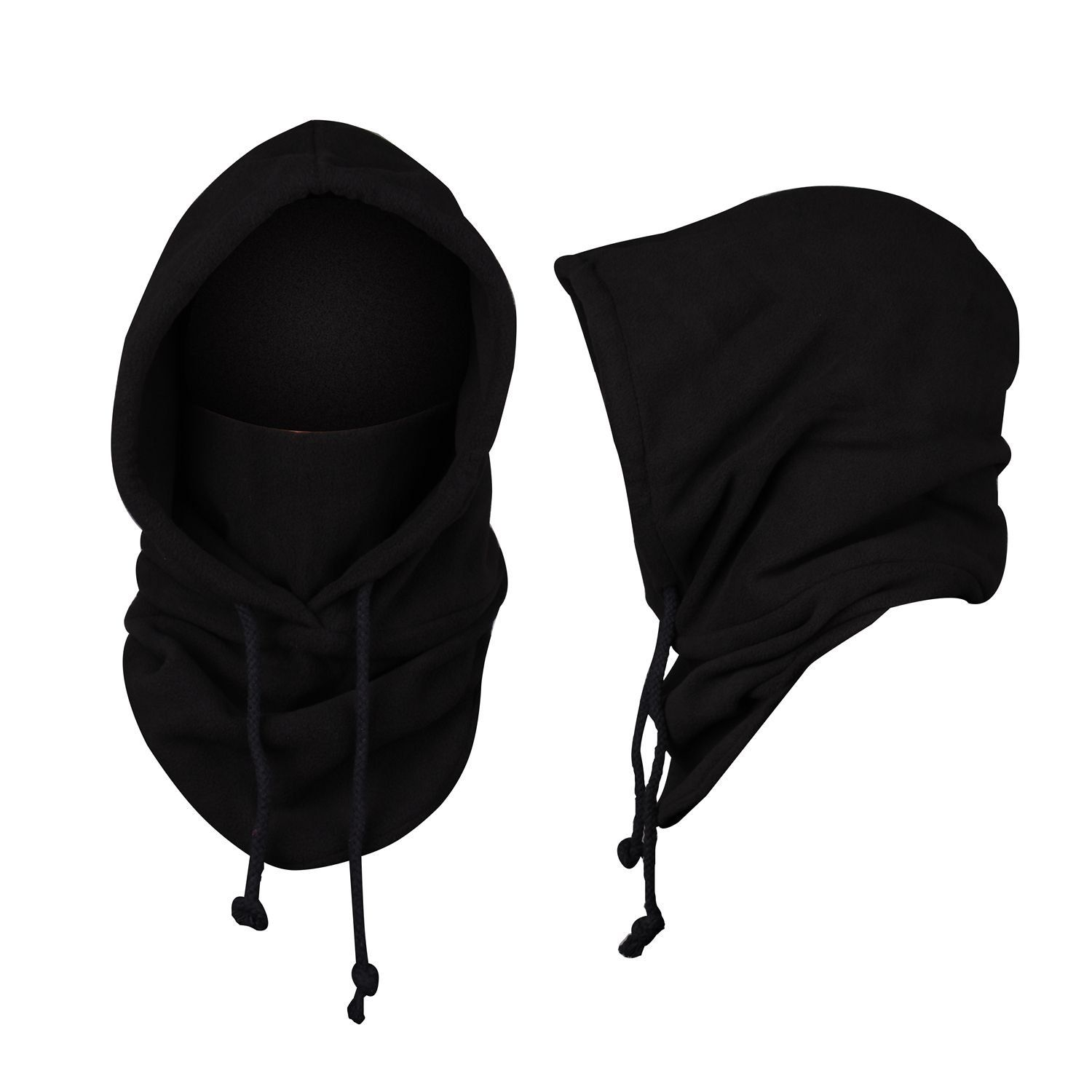 JIERKU Mens Balaclava Mask Black ski Mask Thermal Hats Black Winter ...