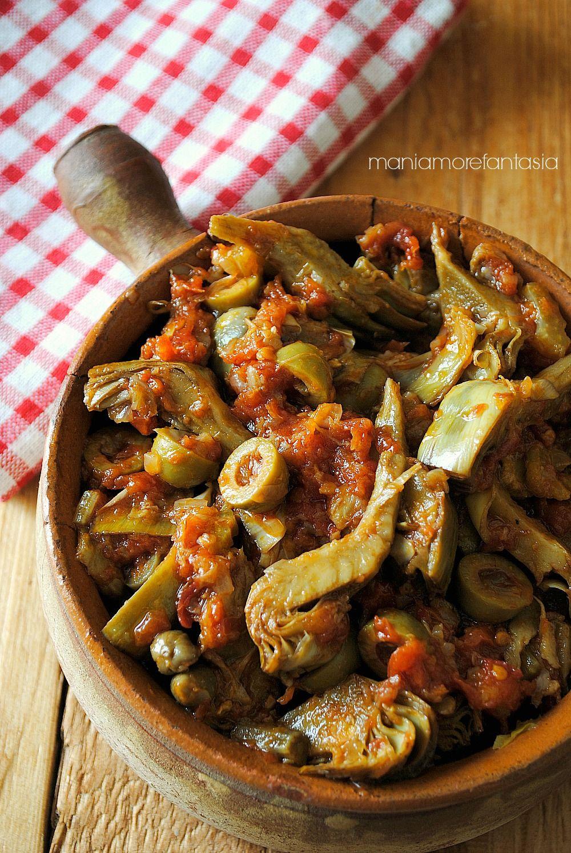 Caponata di carciofi alla siciliana | Idee da cucinare | Pinterest ...