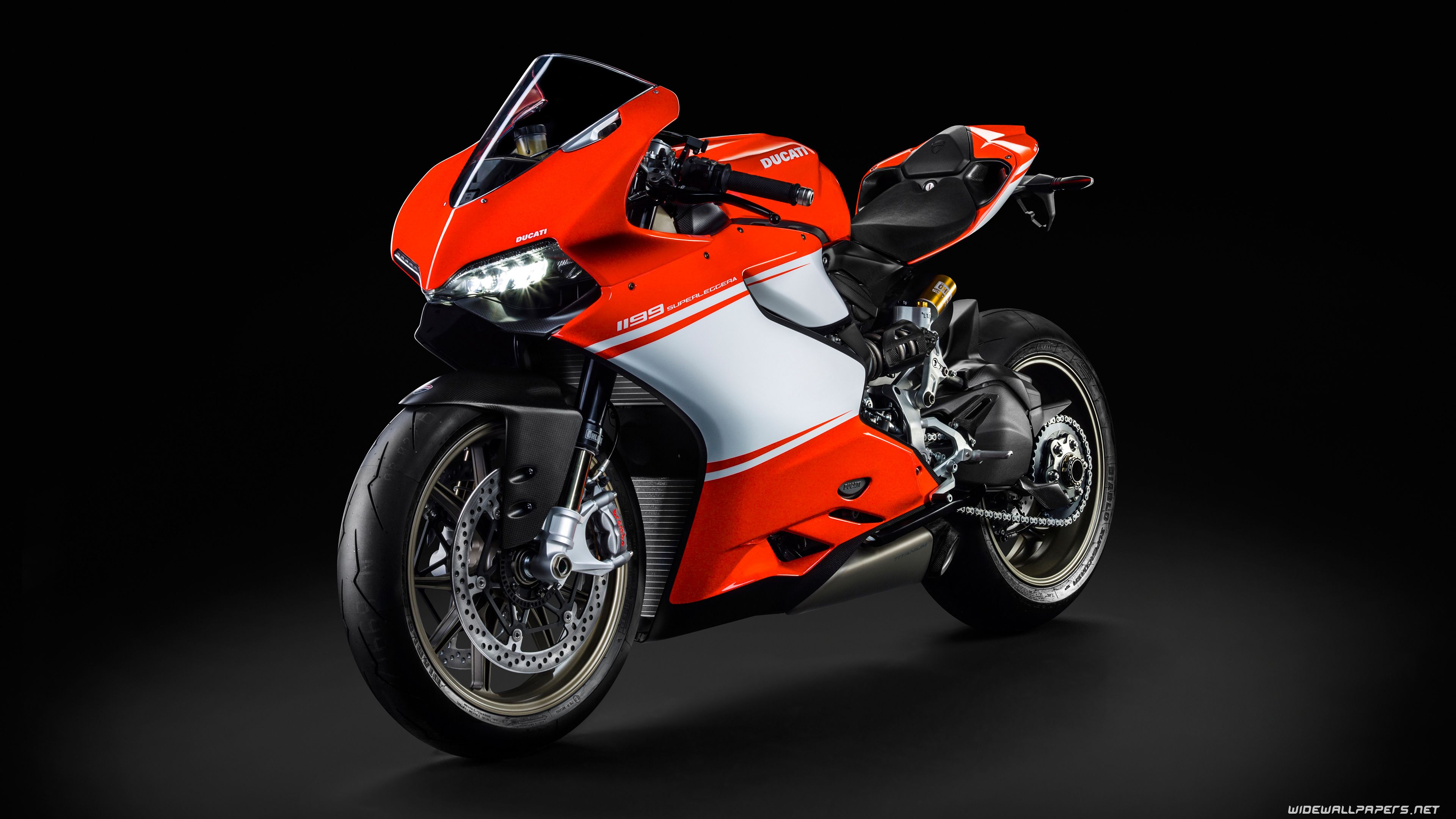 Ducati 1199 Superleggera motorcycle desktop wallpapers 4K ...