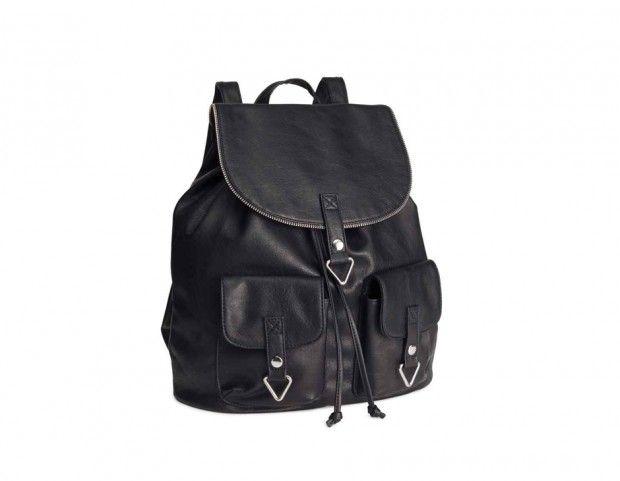vendita calda piuttosto carino vestibilità classica Zainetto sporty-glam in pelle _ H&M _ 29.99 euro | Accessori per ...
