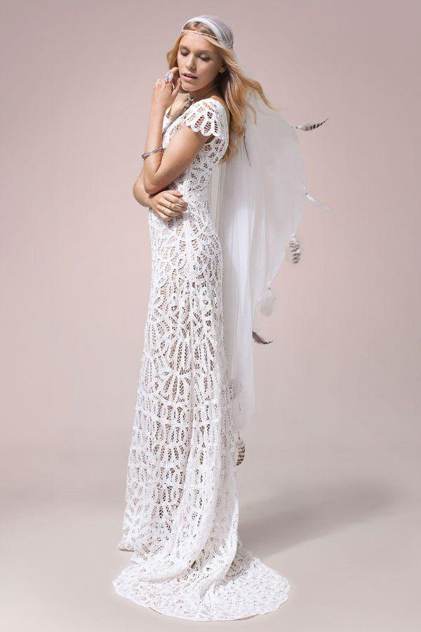 Violet Wedding Dress From Rue De Seine Nomadic Love Collection 2016