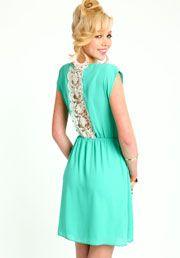 Lace Column Dress:$20.90