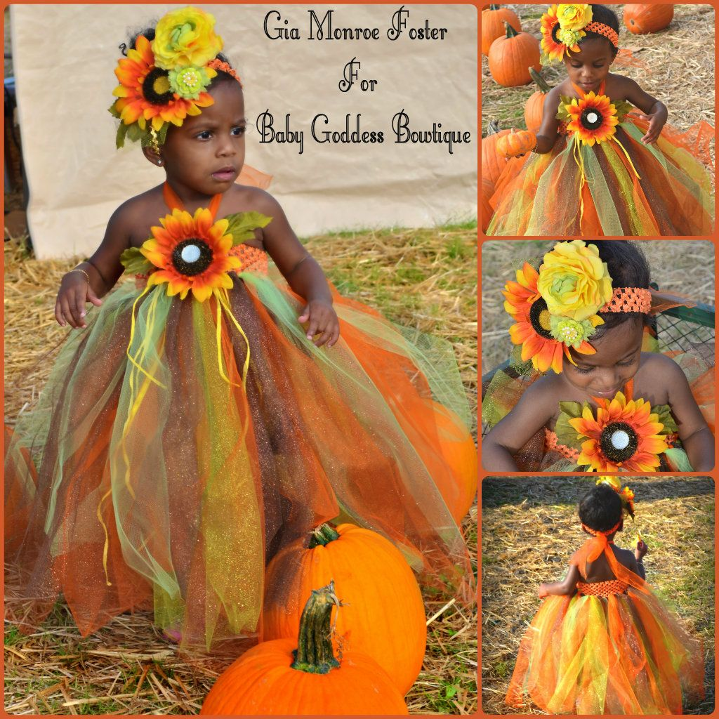 b2e0990a0b8 Fall Thanksgiving Tutu dress..baby Fall outfit..Toddler Thanksgiving dress