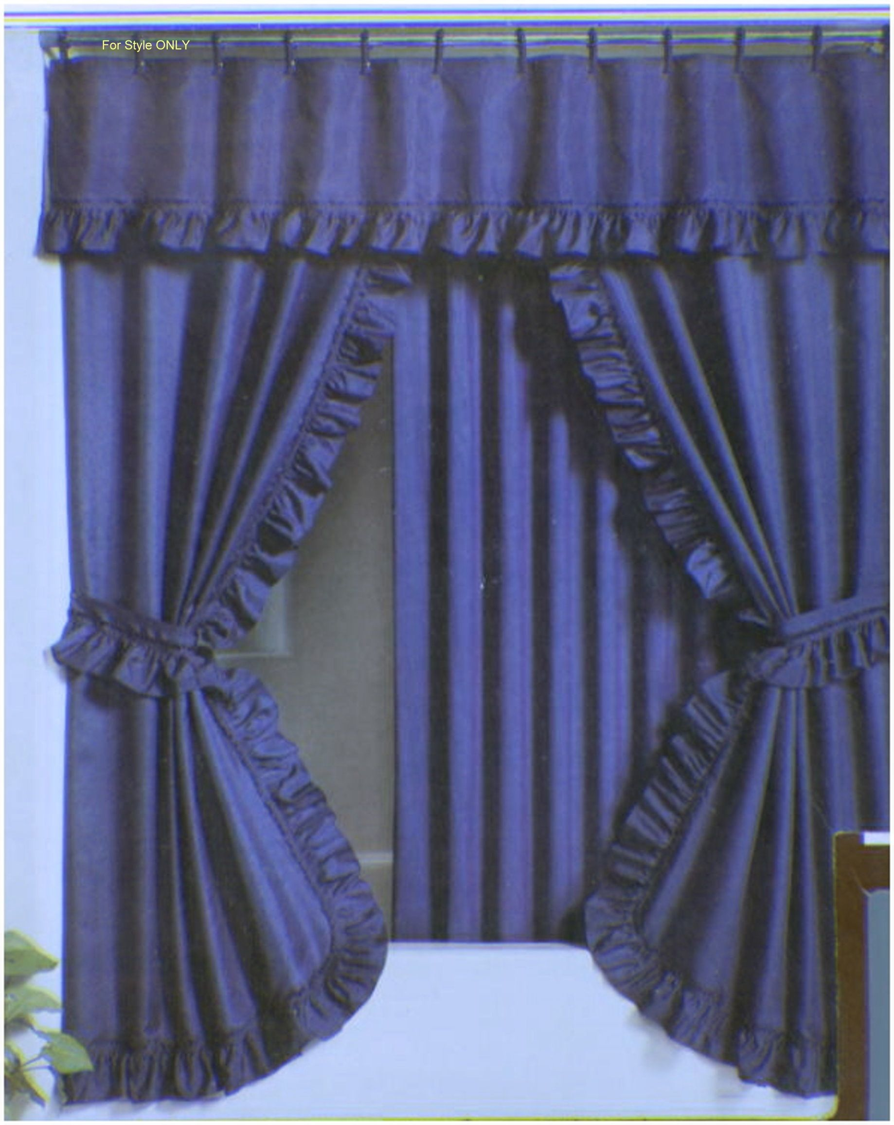 Shower Curtain Valance Set