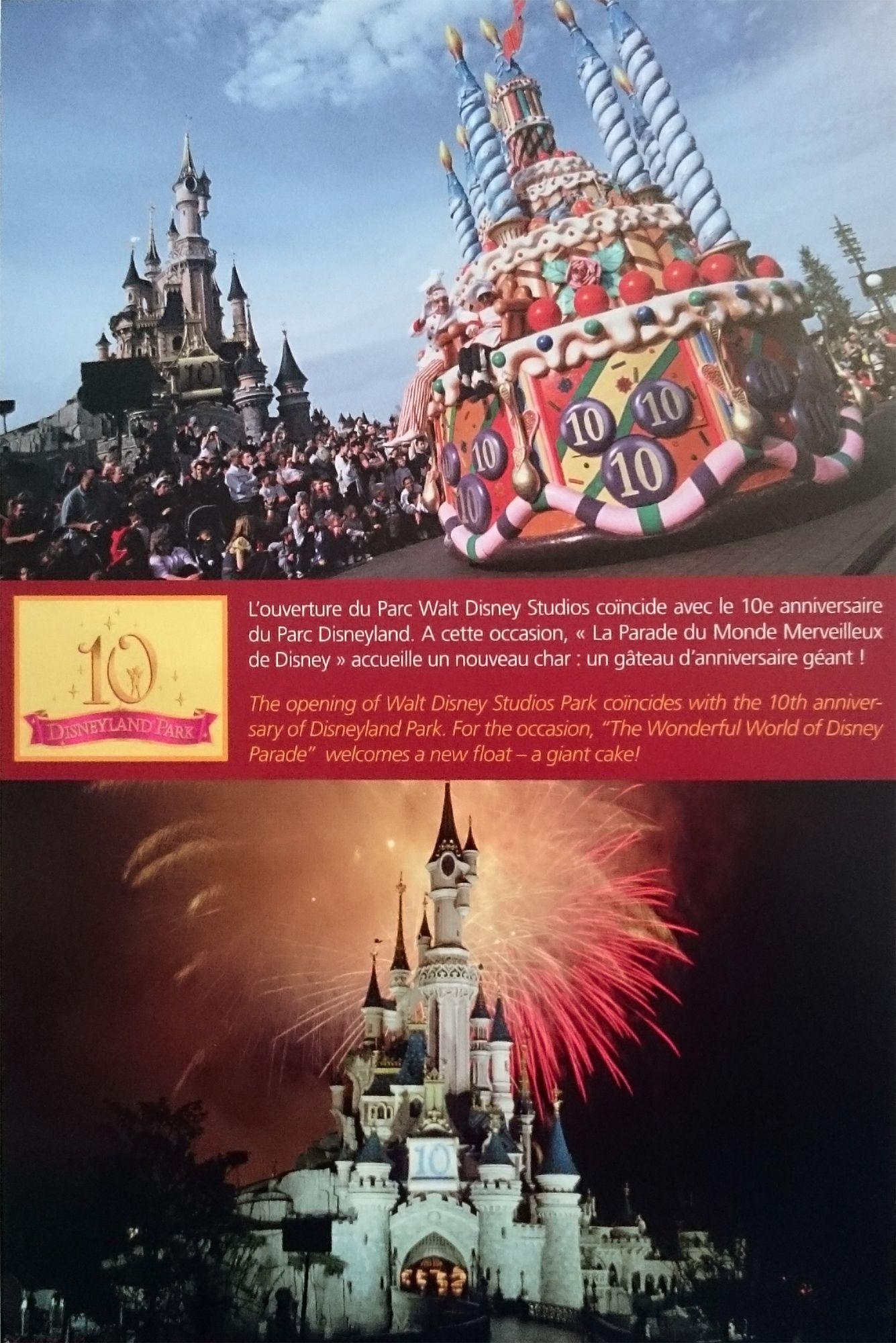 Disneyland Paris 10th Anniversary