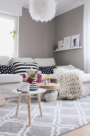 Anzeige - Wohnzimmer einrichten mit OTTO Home  Living Räume - Wohnzimmer Einrichten Grau