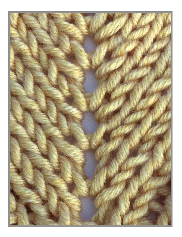 New Porthole Eyelet Really Shows In Your Knitting Knitting
