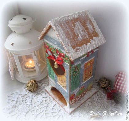 Новогодний чайный домик