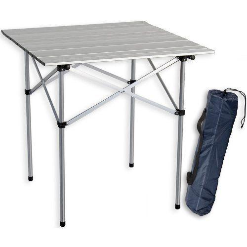 Gartentische Gunstig Online Kaufen Grizzly Pyle Campingtisch Aluminium 70x70x70cm Inkl Tragetasche Grizzly P Camping Tisch Campingtisch Alu Klapptisch